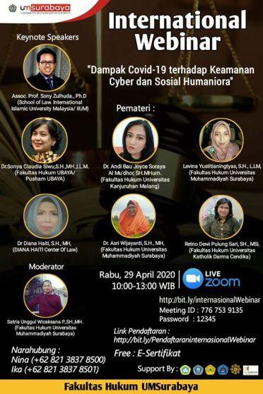 UM Surabaya Webinar 290420